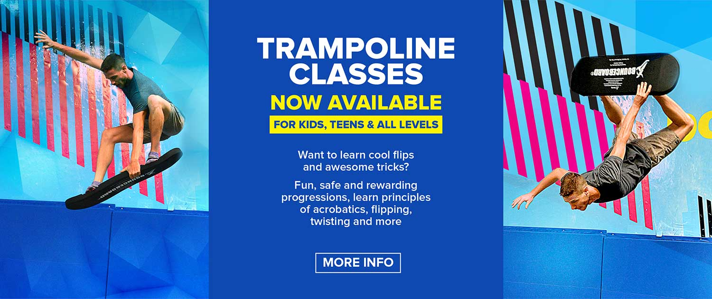 Slide Trampoline Classes